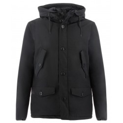 SHORT EBONY PARKA PENN-RICH UOMO