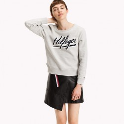 THDW BASIC GRAPHIC CN HKNIT L/S 11 FELPA DONNA