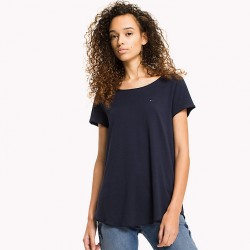 TJW SOFT JERSEY TEE T-SHIRT DONNA TOMMY JEANS