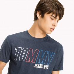 TJM BLOCK LOGO TEE T-SHIRT UOMO TOMMY JEANS