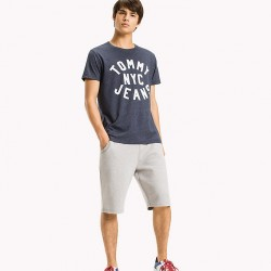 TJM ESSENTIAL LOGO TEE T-SHIRT UOMO TOMMY JEANS