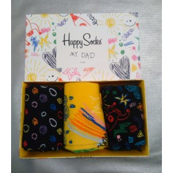 FATHERS DAY GIFT BOX CALZE HAPPY SOCKS